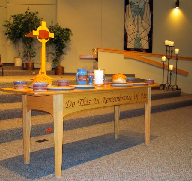 02 - Communion table 2